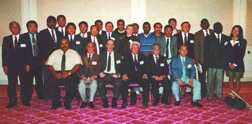 Участники учредительного конгресса Международной федерации сумо