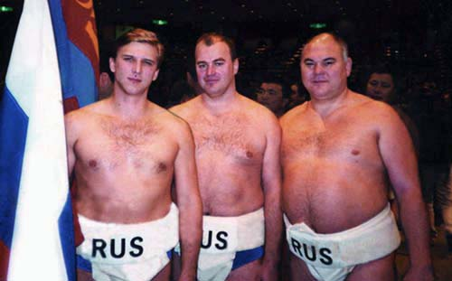 Команда России на III чемпионате Мира