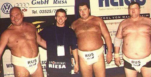 Команда России на IV чемпионате Европы